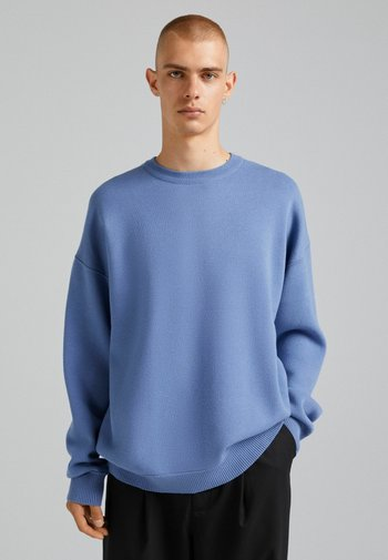 OVERSIZED - Felpa - blue