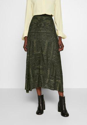 TRICEA - A-line skirt - winter moss