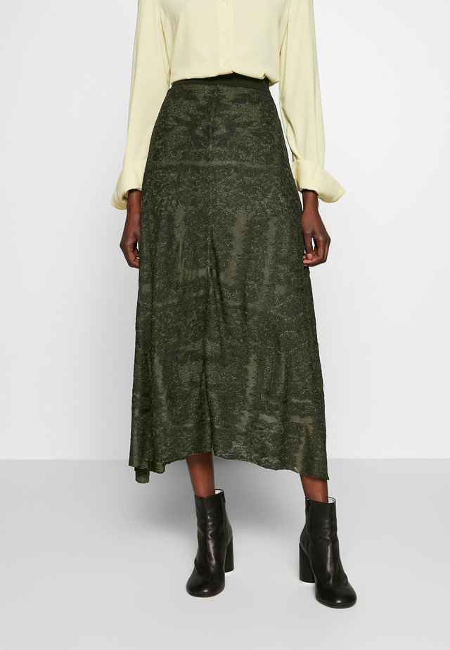 TRICEA - A-snit nederdel/ A-formede nederdele - winter moss