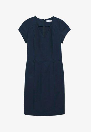 COFI7-A - Fodralklänning - marineblauw