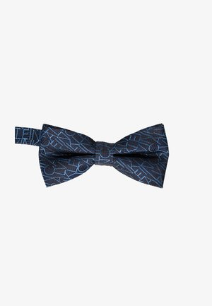 ALL OVER LOGO BOW TIE - Bow tie - blue
