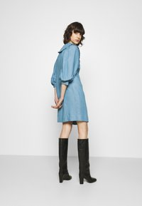 JUST FEMALE - TEXAS DRESS - Shirt dress - light blue - 2