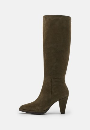 Boots - trend olive