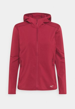 KYANITE HOODY WOMENS - Fleece jacket - dark wonderland