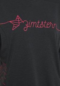 Zimtstern - ECOFLOWZ  WOMENS - Longsleeve - pirate black/jester red - 2