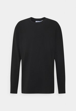 PLUS LONG SLEEVE CREW NECK - Longsleeve - black