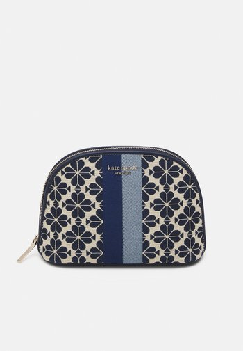 LARGE DOME COSMETIC - Wash bag - blue multi