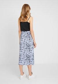 KIOMI - Maxi skirt - light blue/dark blue - 2