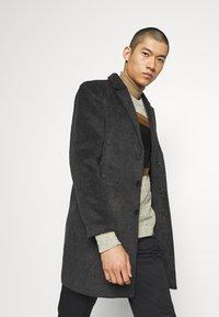 Only & Sons - Classic coat - dark grey melange - 3