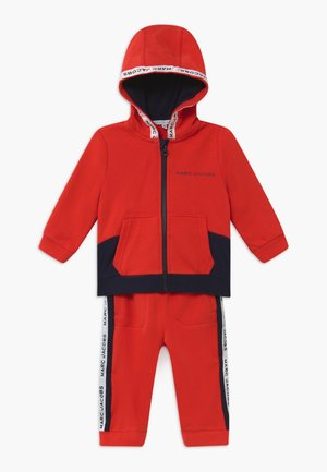 BABY - Tracksuit - red/blue navy