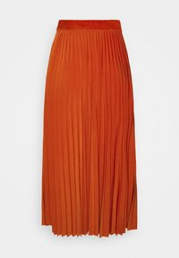 Rich & Royal - PLISSEE SKIRT - A-line skirt - rusty red - 1