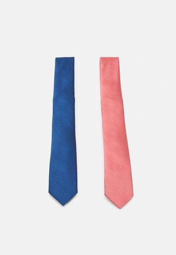 2 PACK - Tie - blue/pink