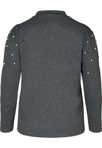 Zizzi - Long sleeved top - dark grey - 2