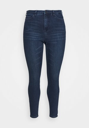 VMLORAEMILIE - Slim fit jeans - dark blue denim