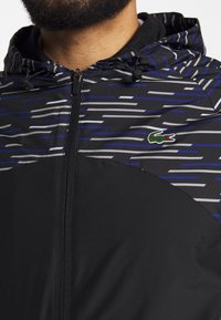 Lacoste Sport - WINDJACKET - Training jacket - black/white/cosmic/calluna/white - 7