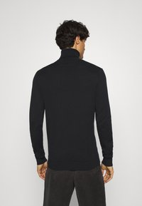 TOM TAILOR DENIM - BASIC ROLLNECK - Trui - black - 2