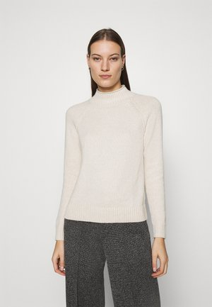 DOORBUSTER FUNNEL NECK SOLIDS - Neule - oatmeal