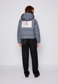 Calvin Klein Jeans - BIG LOGO PUFFER - Winter jacket - shining armor - 2