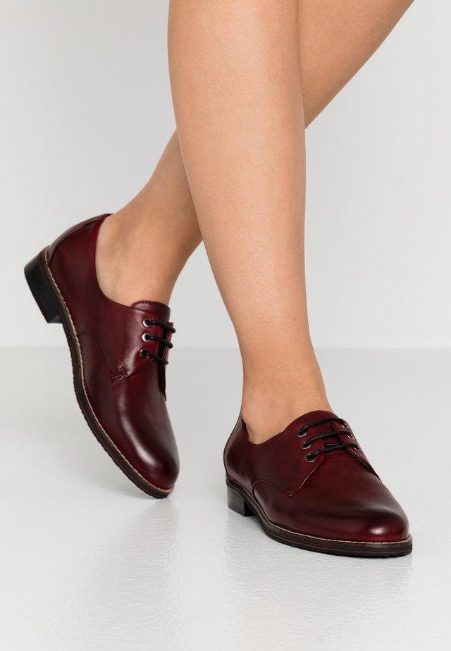 GESNERIA - Šněrovací boty - sangria