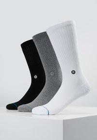 Stance - ICON 3 PACK - Socks - white/grey/black - 0