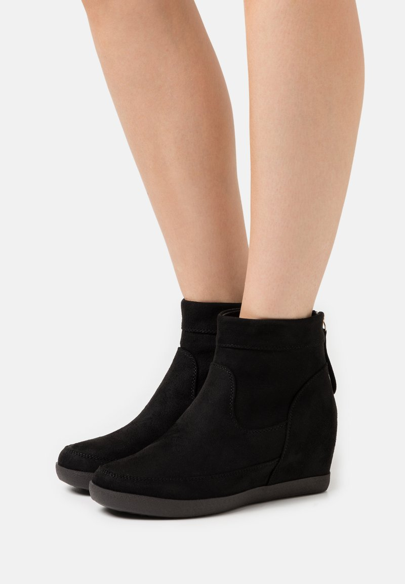 Anna Field - Wedge Ankle Boots - black