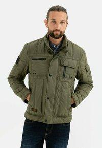 camel active - Winter jacket - olive night - 0
