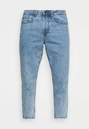 ONSAVI BEAM LIFE CROP - Relaxed fit jeans - blue denim