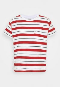 Lee - RELAXED POCKET TEE - Print T-shirt - red ochre - 0