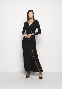 Lauren Ralph Lauren - CLASSIC LONG GOWN TRIM - Suknia balowa - black - 1