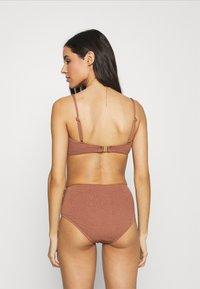 Seafolly - SEA DIVE SLIDE - Bikini top - bronze - 2