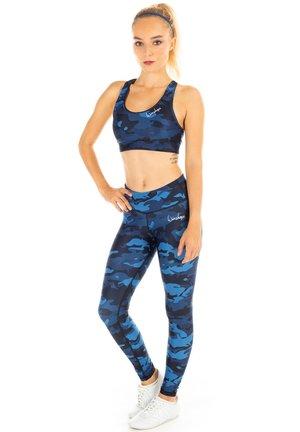 FUNCTIONAL POWER SHAPE - Leggings - camo blue
