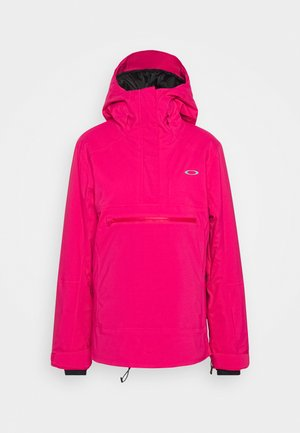 IRIS INSULATED ANORAK - Snowboard jacket - rubine red