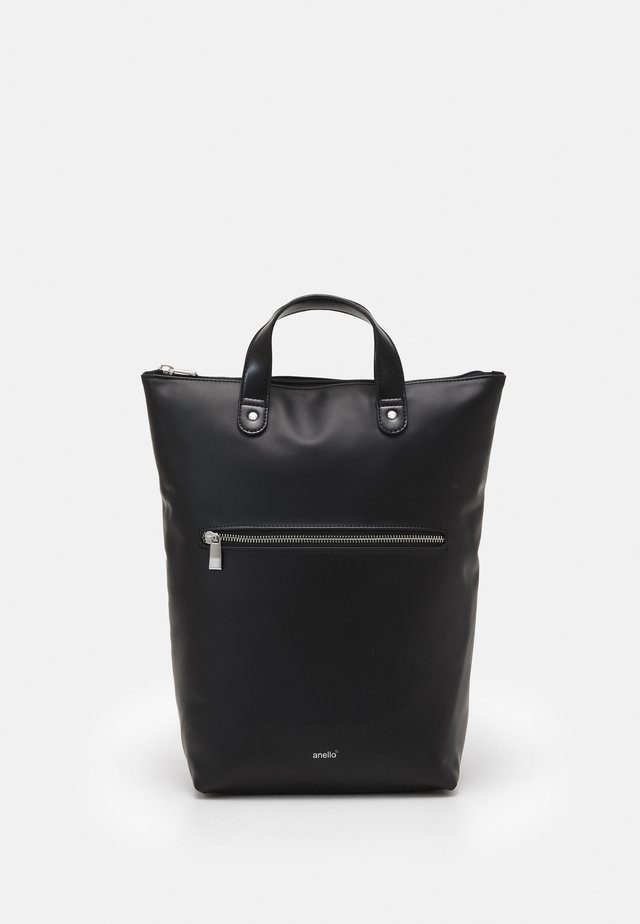 SOIL RUBBERISED UNISEX - Rygsække - black