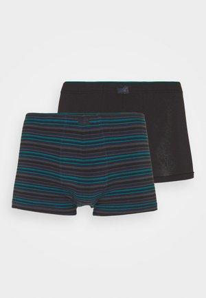 PANTS 2 PACK - Pants - green dark