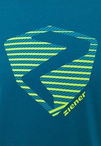 Ziener - NOLAF MAN - T-shirt imprimé - crystal blue - 2