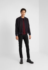 Editions MR - JEAN PAUL JACKET - Leather jacket - navy - 1