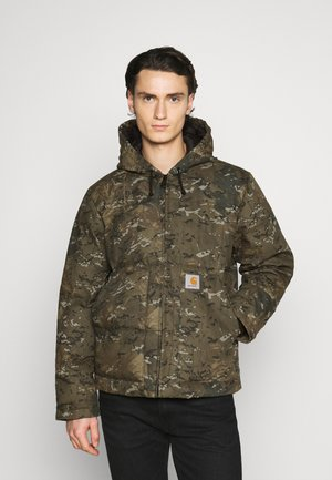 BROOKE DEARBORN - Winter jacket - camo combi