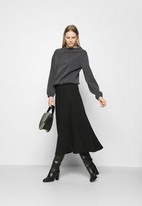 Opus - GABBI - Long sleeved top - black - 1
