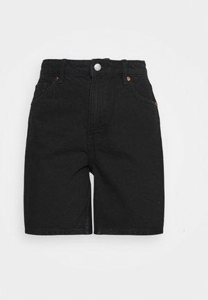 EMMA  - Denim shorts - black dark