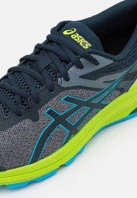 ASICS - GT-1000 10 UNISEX - Stabilty running shoes - french blue/digital aqua - 5