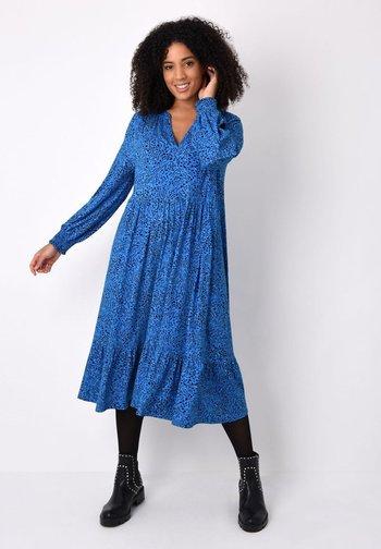 BLUE HEART - Jersey dress - blue