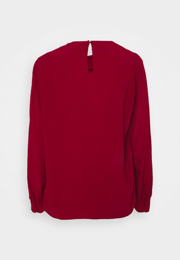 Esprit Collection BLOUSE - Bluzka - dark red/ciemnoczerwony DFHW
