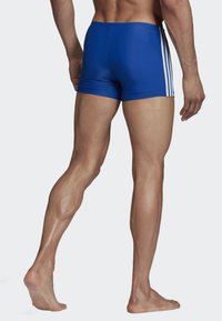 adidas Performance - FIT BOXERS 3 STRIPES PRIMEBLUE BOXER SWIM TRUNKS - Badebukser - blue/white - 1