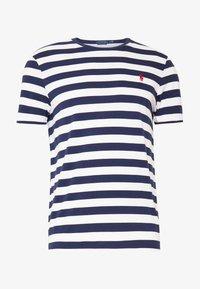 Polo Ralph Lauren - Print T-shirt - french navy/white - 4