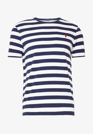 T-shirts med print - french navy/white