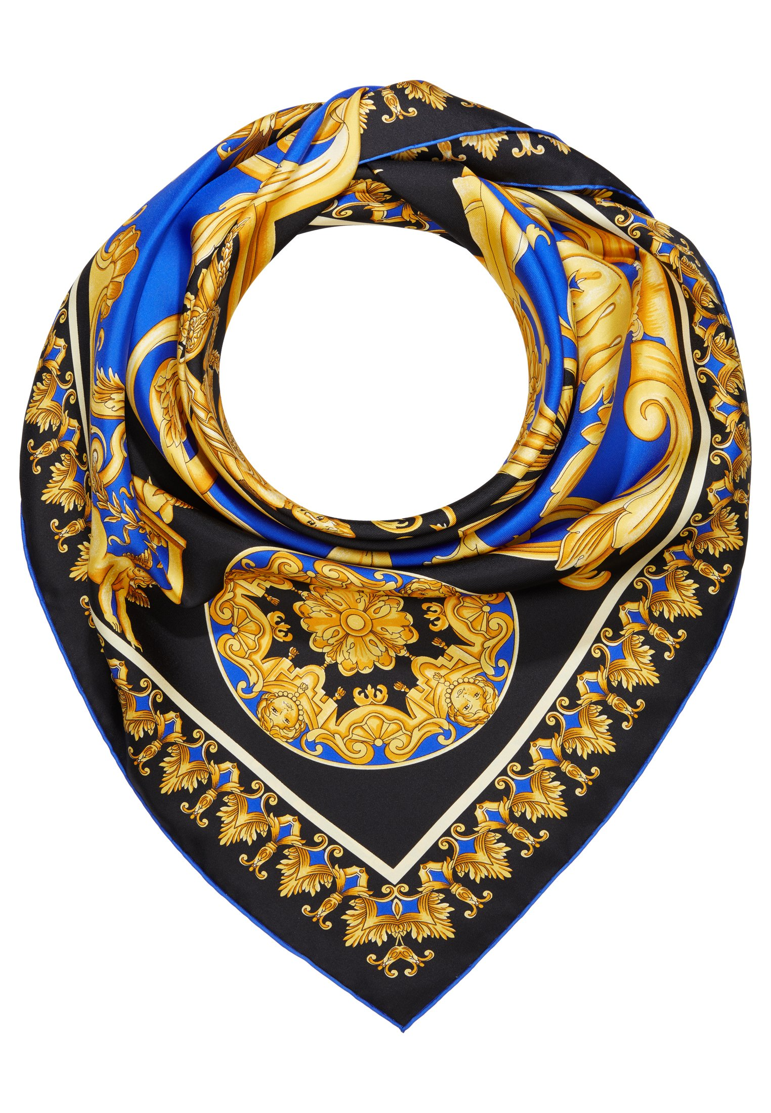 Versace Foulard - Tuch Nero-oro-bianco/schwarz