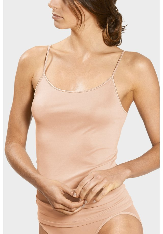 Undershirt - cream tan