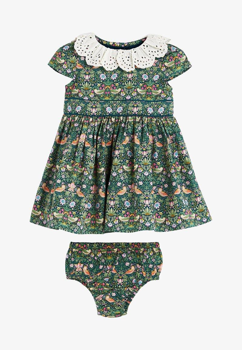 Next - SET - Day dress - green