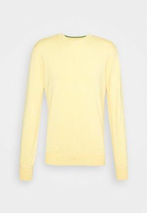 CLASSIC CREWNECK PULL - Svetr - code yellow melange