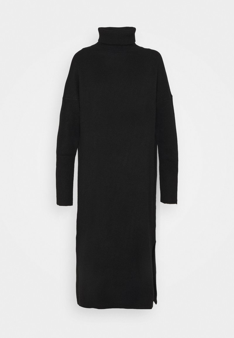 CHINTI & PARKER - ROLL NECK DRESS - Jumper dress - black